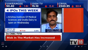 In conversation with @CNBCTV18News