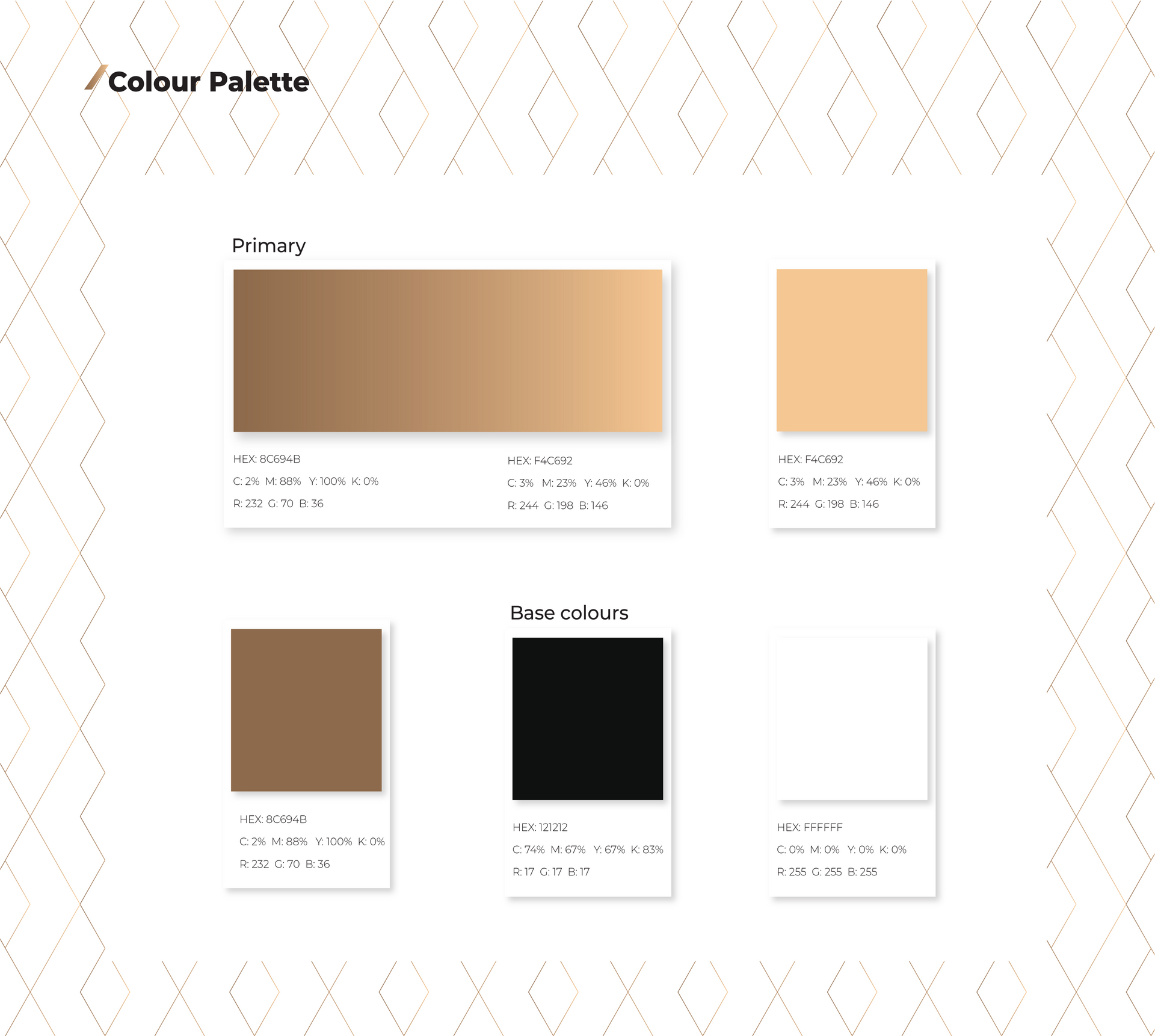 Color palette for Xeneer