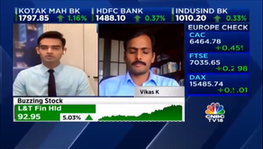 In conversation with CNBC-TV18 on how the market performed
