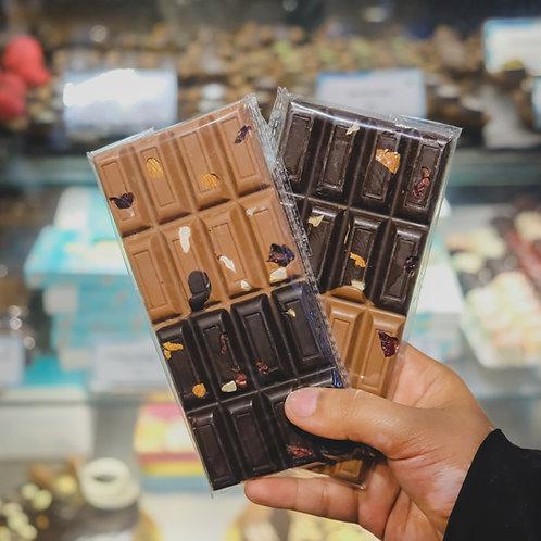 Double Almond Chocolate Bar