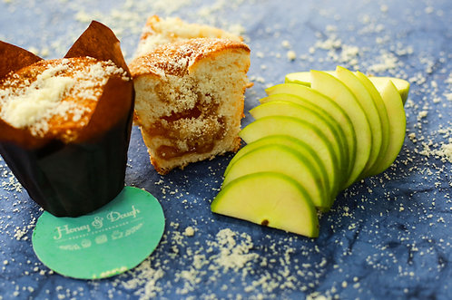 Apple Cinnamon Crumble Muffin