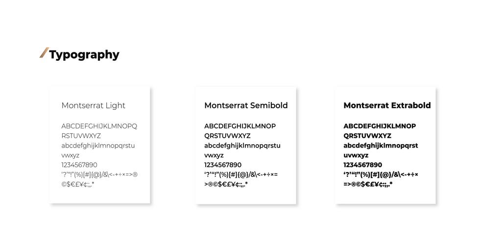 Typography for Xeneer