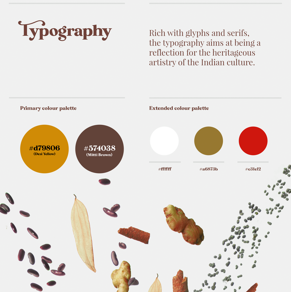 Indian food branding project