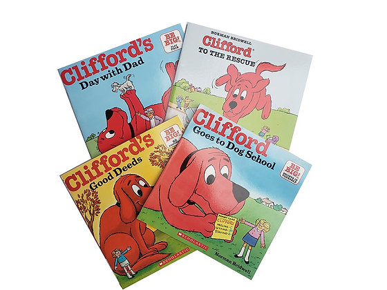 Pack Clifford Day with Dad, To the rescue, Good Deeds, Goes to school