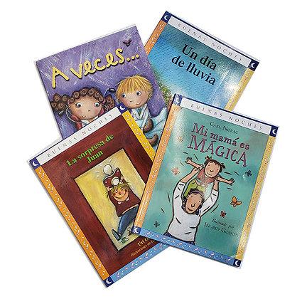Pack 4 Libros Buenas Noches