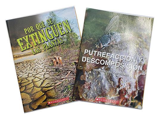 Pack 2 Libros Conocimiento Scholastic