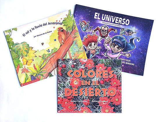 Pack 3 libros Scholastic