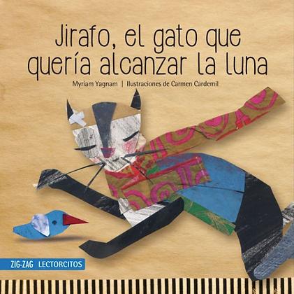 Jirafo, el gato que quería alcanzar la luna