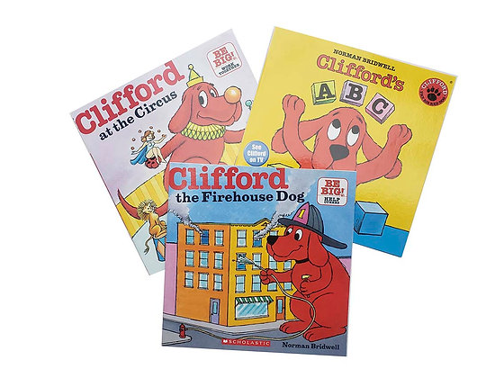 Pack Clifford at the Circus, Clifford A B C, Clifford the Firehouse Dog