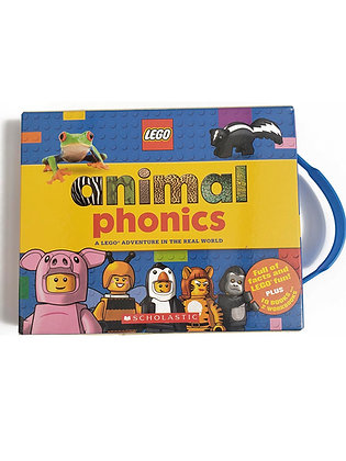 Pack 12 libros LEGO® Animal Fonics