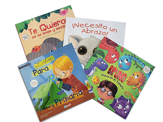 Pack 4 Libros DreamsArt