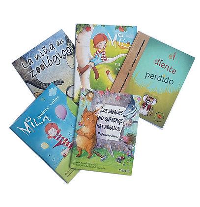 Pack 5 libros Ilustrados