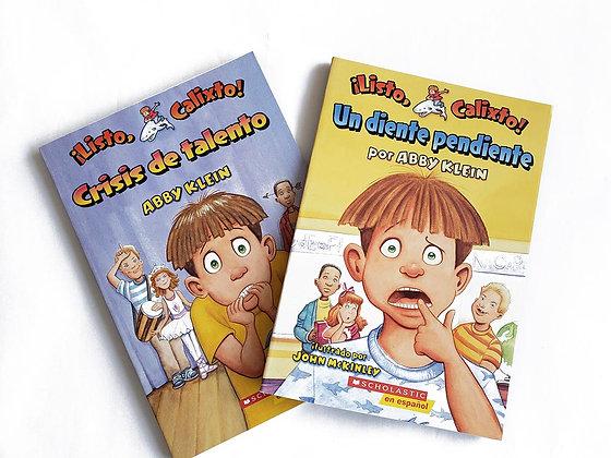 Pack 2 libros ¡Listo, Calixto!