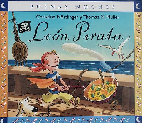 Buenas noches: León pirata