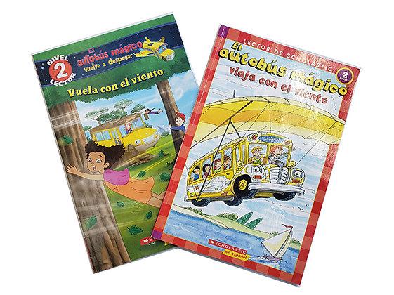 Pack 2 Libros El Autobús Mágico