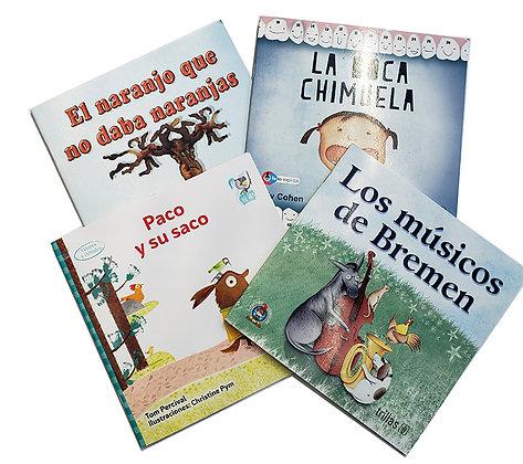 Pack 3 Libros Ilustrados Trillas