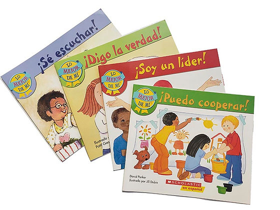Pack 4 libros Lo Mejor de Mí