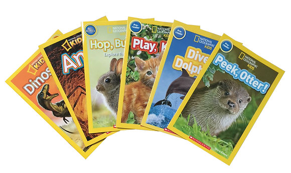 National Geographic Kids - Pack 6 libros