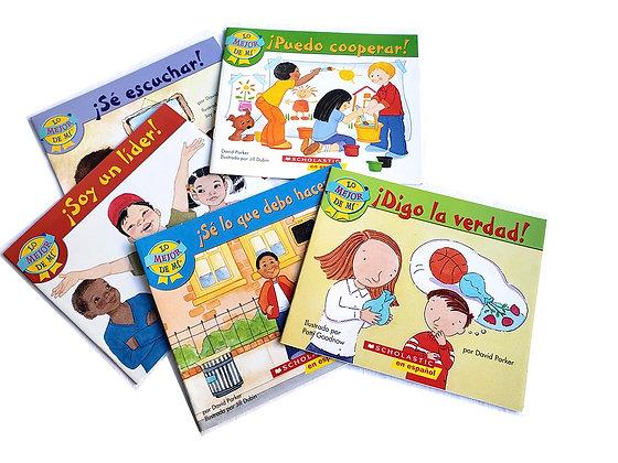 Pack 5 libros Lo Mejor de Mí