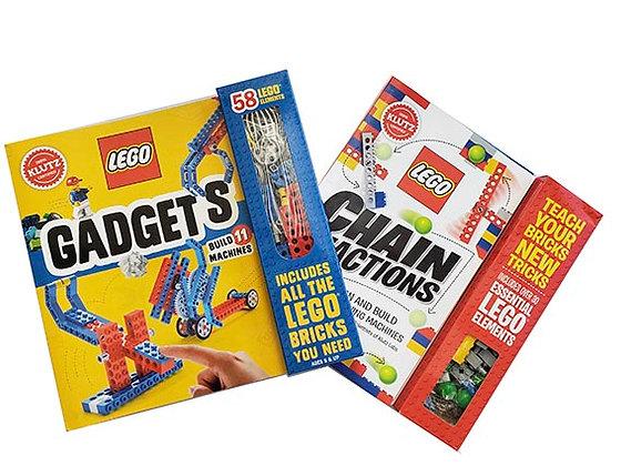 Pack 2 libros manualidades Lego