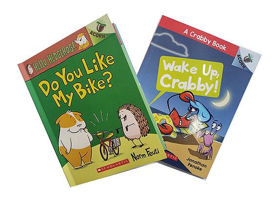Pack 3 Libros Acorn Scholastic