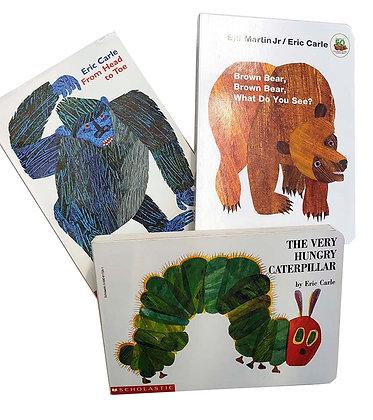Pack 3 libros Erick Carle