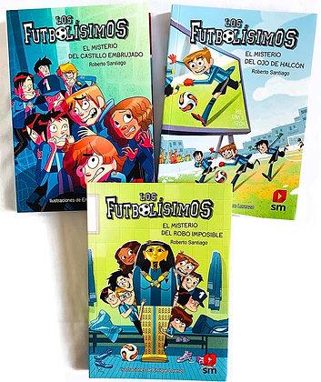 Pack 3 libros Los Futbolísimos