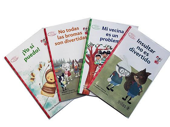 Pack 4 Libros Valores y Virtudes Trillas