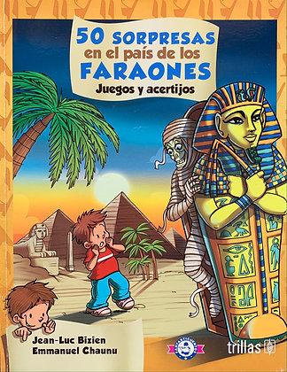 50 sorpresas en el país de los faraones, juegos y acertijos