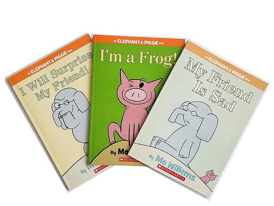 Pack 3 libros An Elephant & Piggie Book