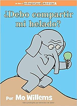Elefante y Cerdita: ¿Debo compartir mi helado?