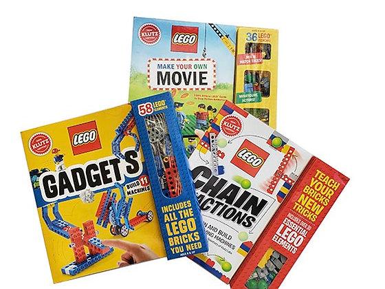 Pack 3 libros manualidades LEGO