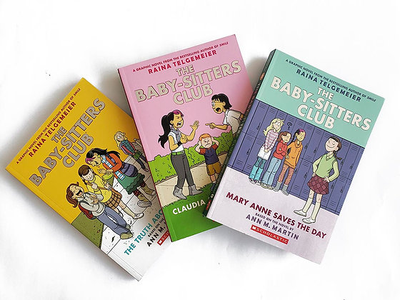 Pack 3 libros The Baby-Sitters Club
