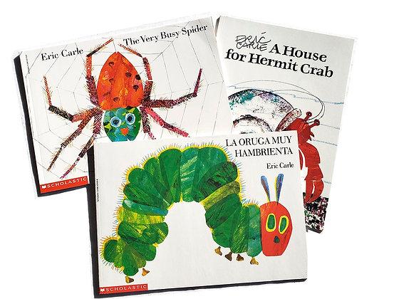 Pack 3 libros de Eric Carle