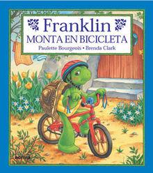 Franklin monta en bicicleta