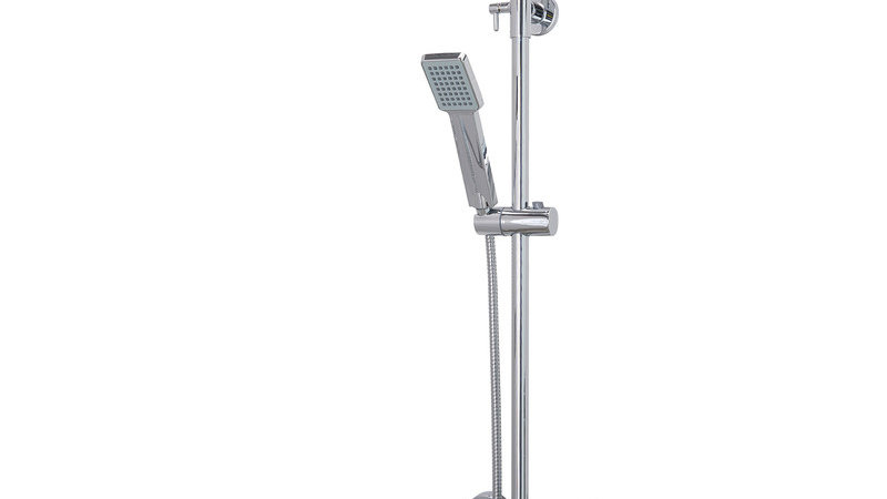 Thermostatic Bar Mixer Shower With Square Overhead