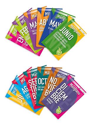 Colección An Apple A Day - 12 libros de bolsillo