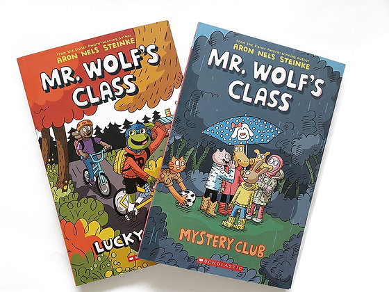 Pack 2 libros Mr. Wolf's Class