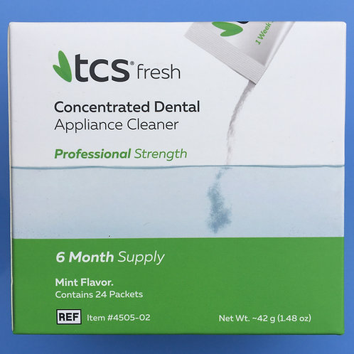 TCS Fresh (Dental Appliance Cleaner)