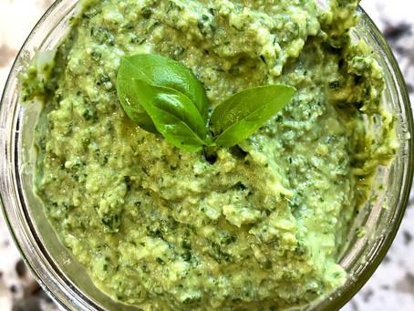 Vegan Paleo Pesto Sauce
