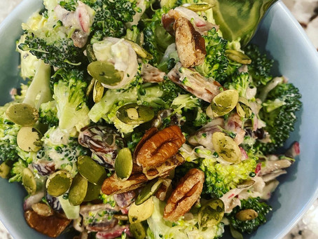 Broccoli Radish Salad