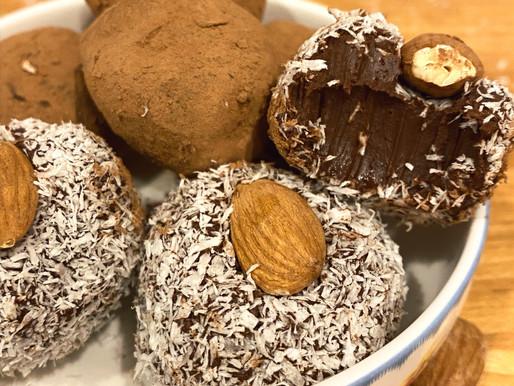 Dairy-Free Dark Chocolate Truffles & Ganache
