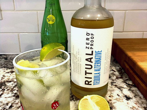 Ranch Water Mocktail
