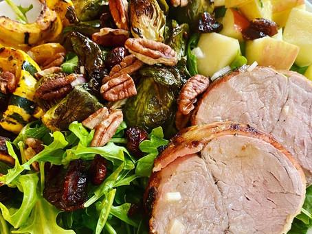 Roasted Veggie Harvest Salad