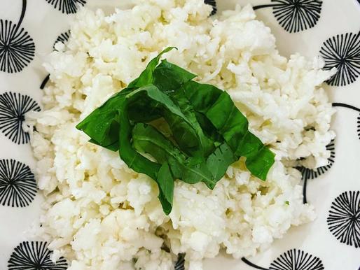 Raw Lime Riced Cauliflower