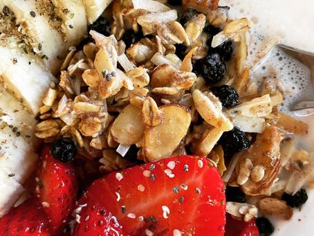 Gluten-Free Blueberry Vanilla Granola