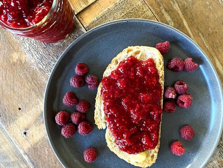 Simple Paleo Raspberry Jam