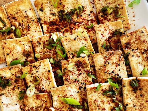Korean Pan Seared Tofu