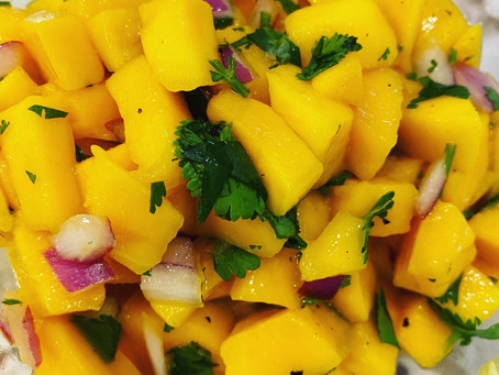 Quick and Easy Mango Salsa