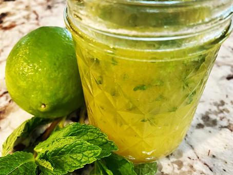 Mint & Lime Vinaigrette